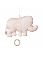 Musikmobil Elefant Rosa