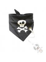 Bandanas Bib Med Napphållare Pirat