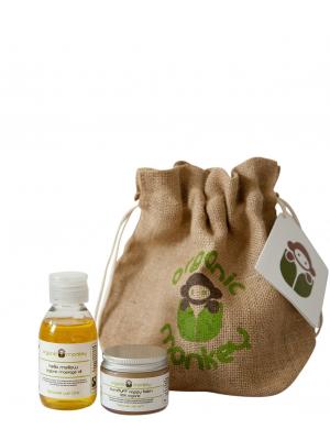 Organic Monkey giftset 2-delar