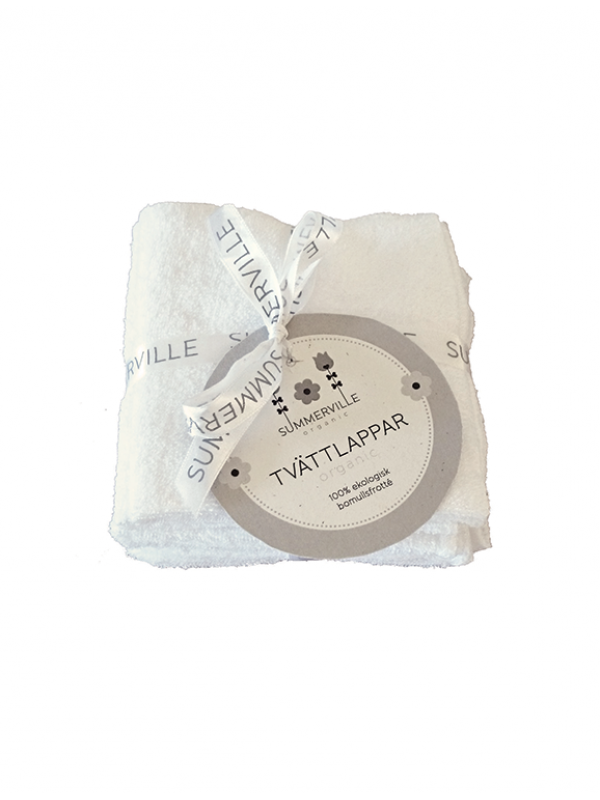 Ekologiska tvättlappar 5-pack