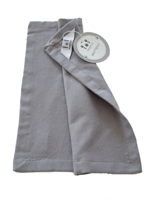 Blankie cotton Grey