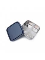 Burk fyrkantig - To-Go Divided Container Medium