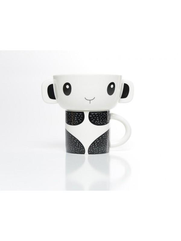 Mugg & Skål Panda