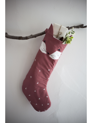Christmas Animal Stocking Fox