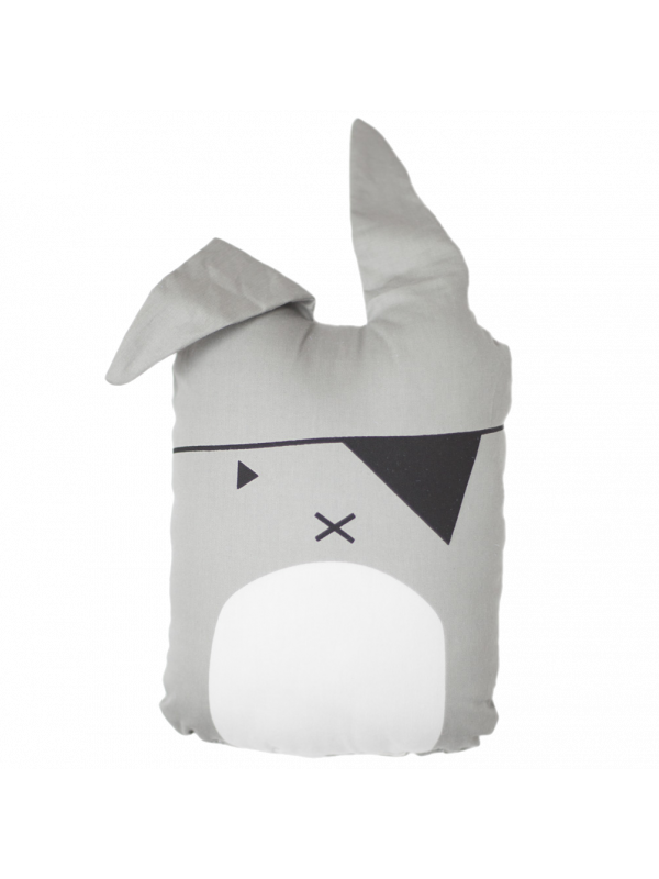 Animal Cushion Pirate Bunny