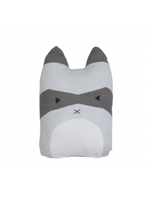 Animal Cushion Rascal Raccoon
